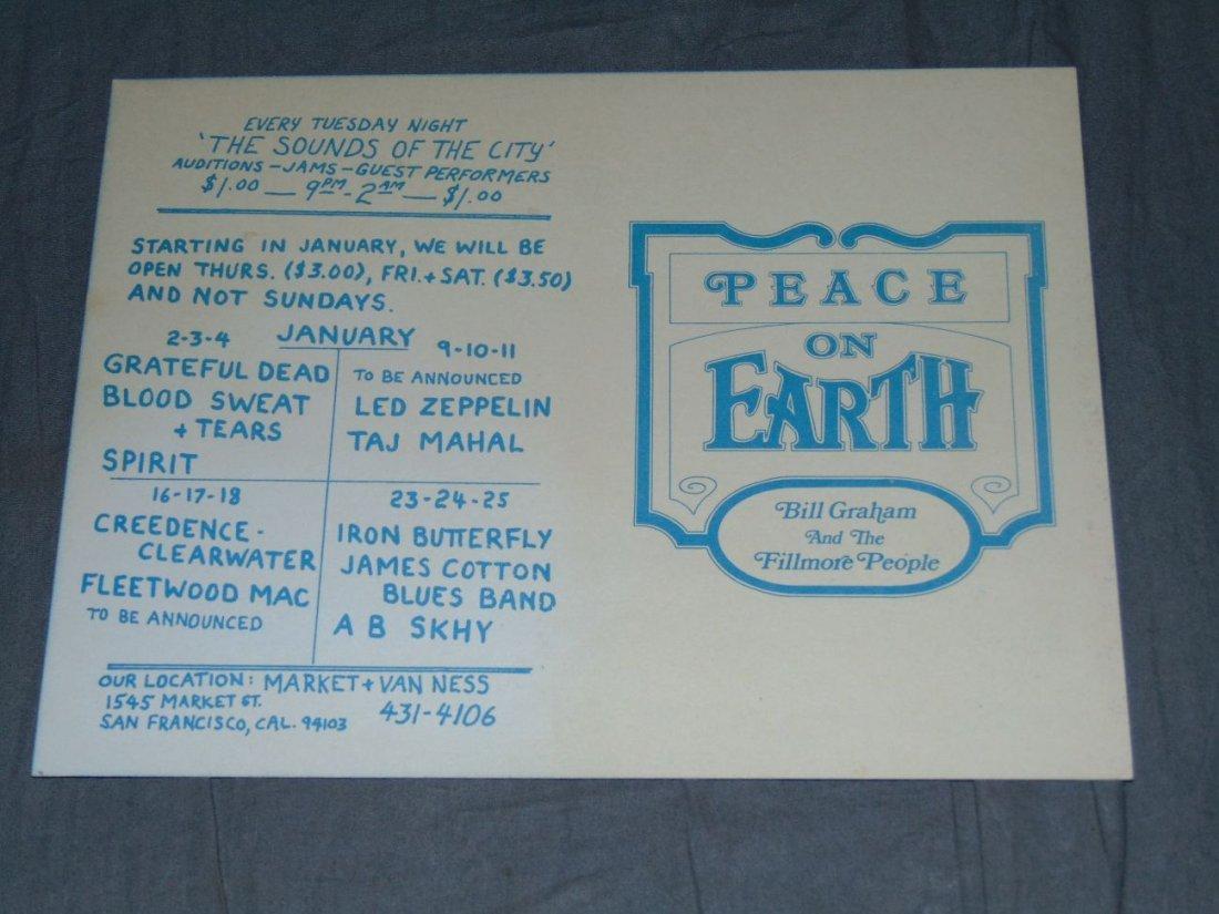 (2) Grateful Dead Fillmore Concert Handbills - 5