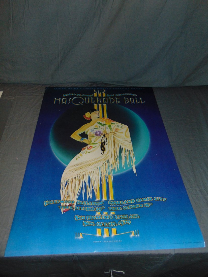 8 Assorted Coyote Hooker's Ball Posters, 1970's - 3