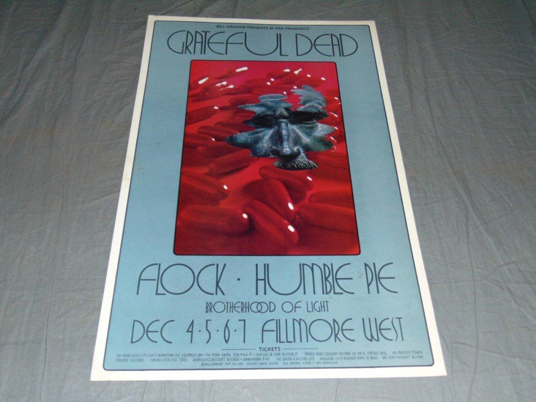 Grateful Dead Fillmore Concert Poster BG205
