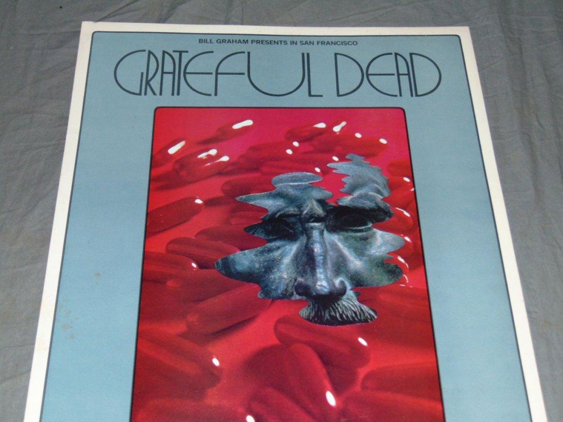 Grateful Dead Fillmore Concert Poster BG205 - 2