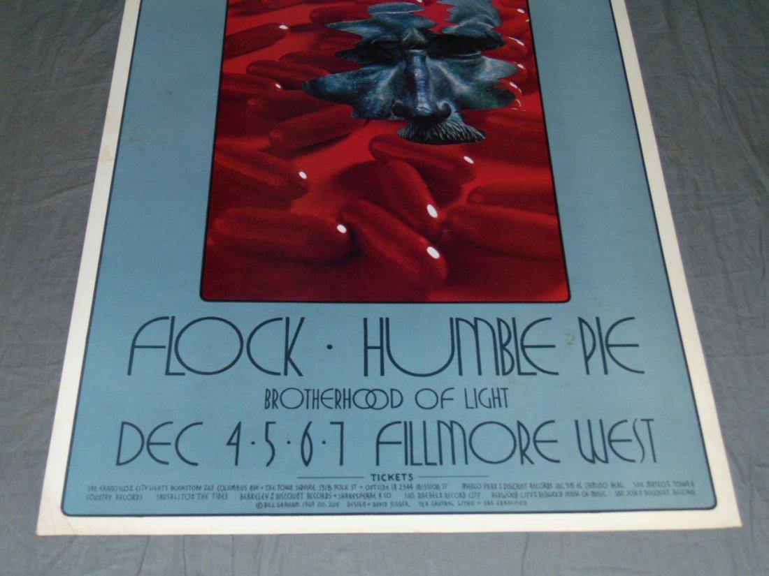 Grateful Dead Fillmore Concert Poster BG205 - 3
