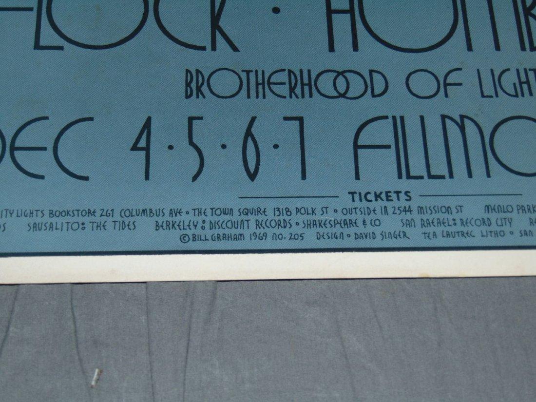 Grateful Dead Fillmore Concert Poster BG205 - 4