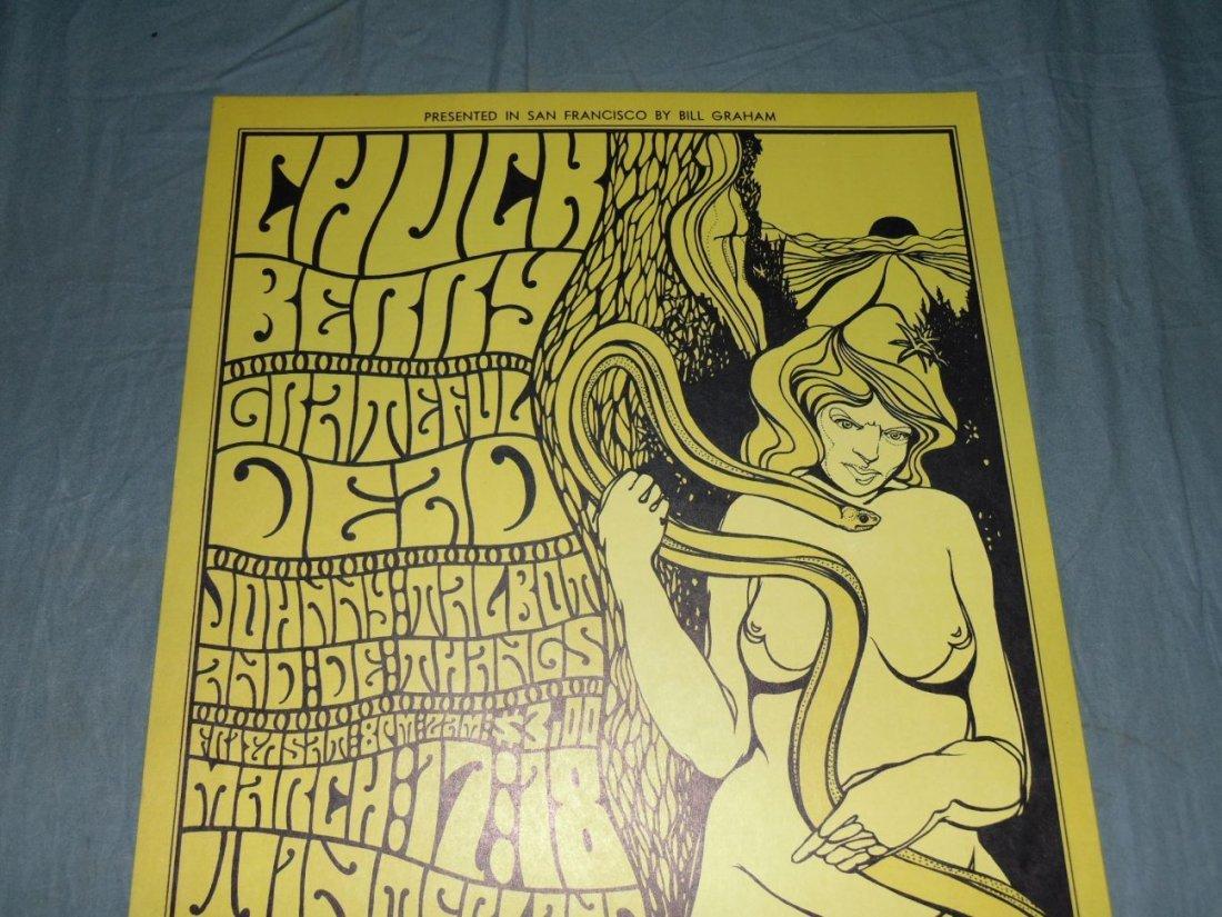 (2) Grateful Dead 1967 Concert Posters BG55 - 2