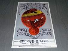 Grateful Dead Fillmore Concert Poster BG171