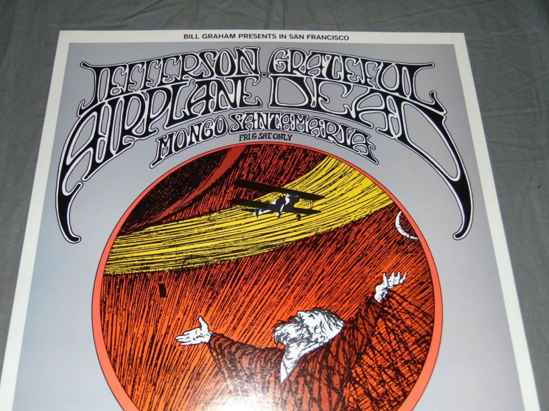 Grateful Dead Fillmore Concert Poster BG171 - 2