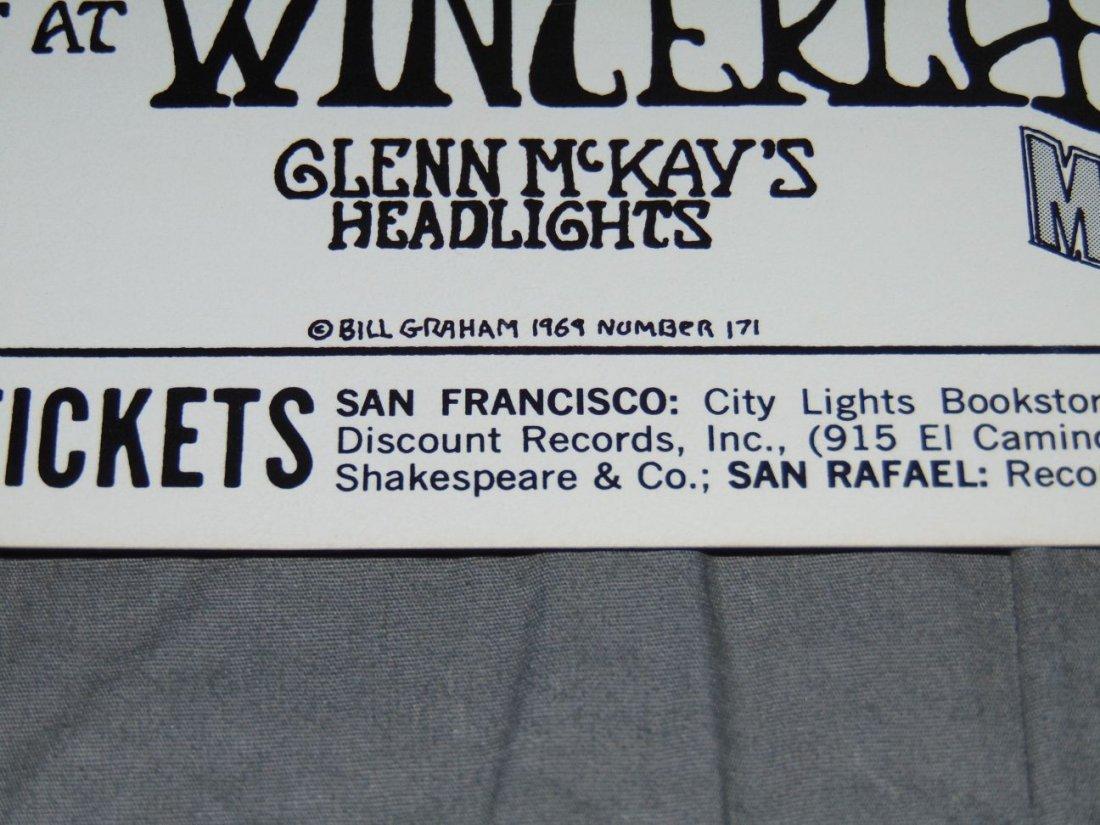 Grateful Dead Fillmore Concert Poster BG171 - 4