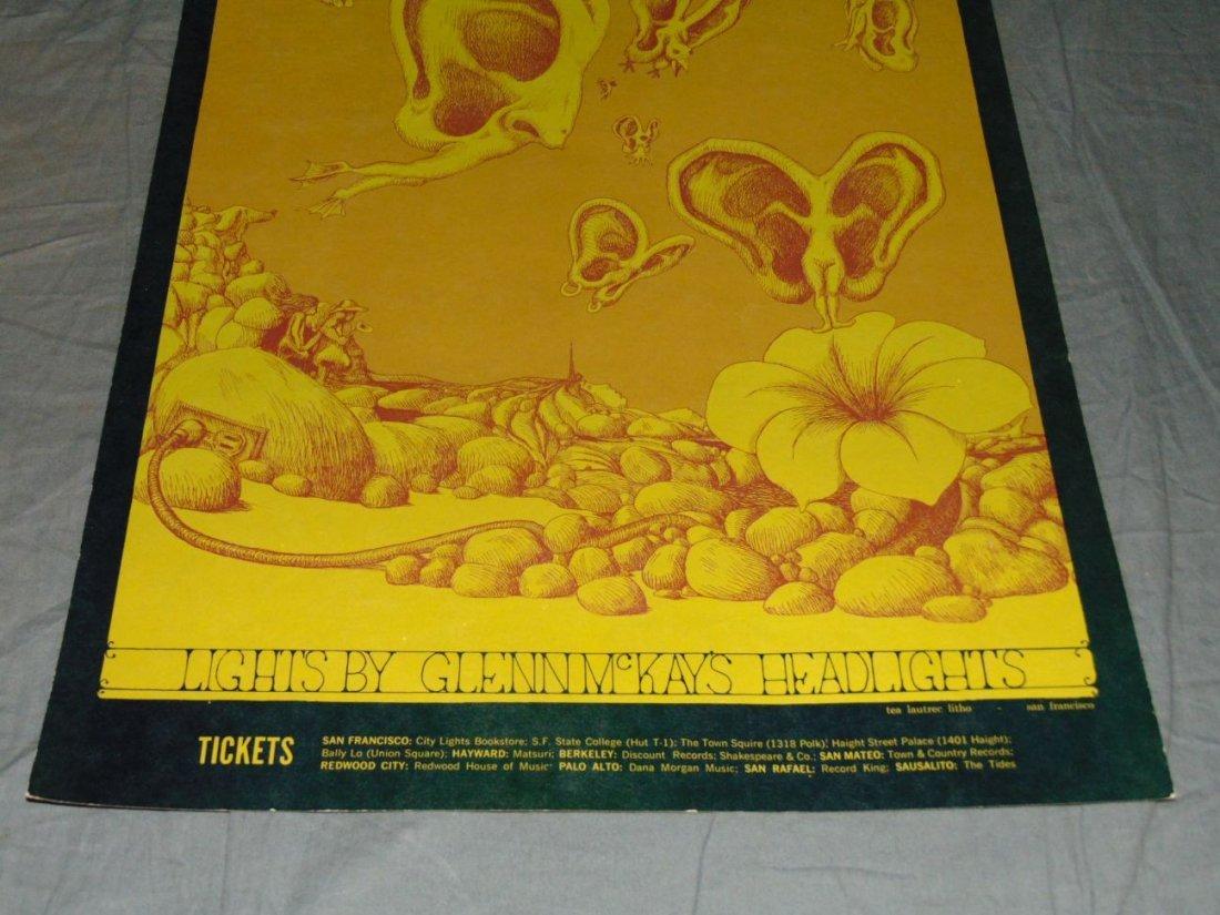 1968 The Who BG108 Fillmore Concert Poster - 3