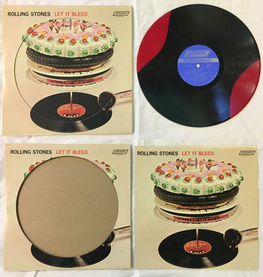 Rare, Rolling Stones Let It Bleed Variant Pressing
