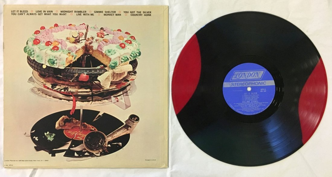 Rare, Rolling Stones Let It Bleed Variant Pressing - 4