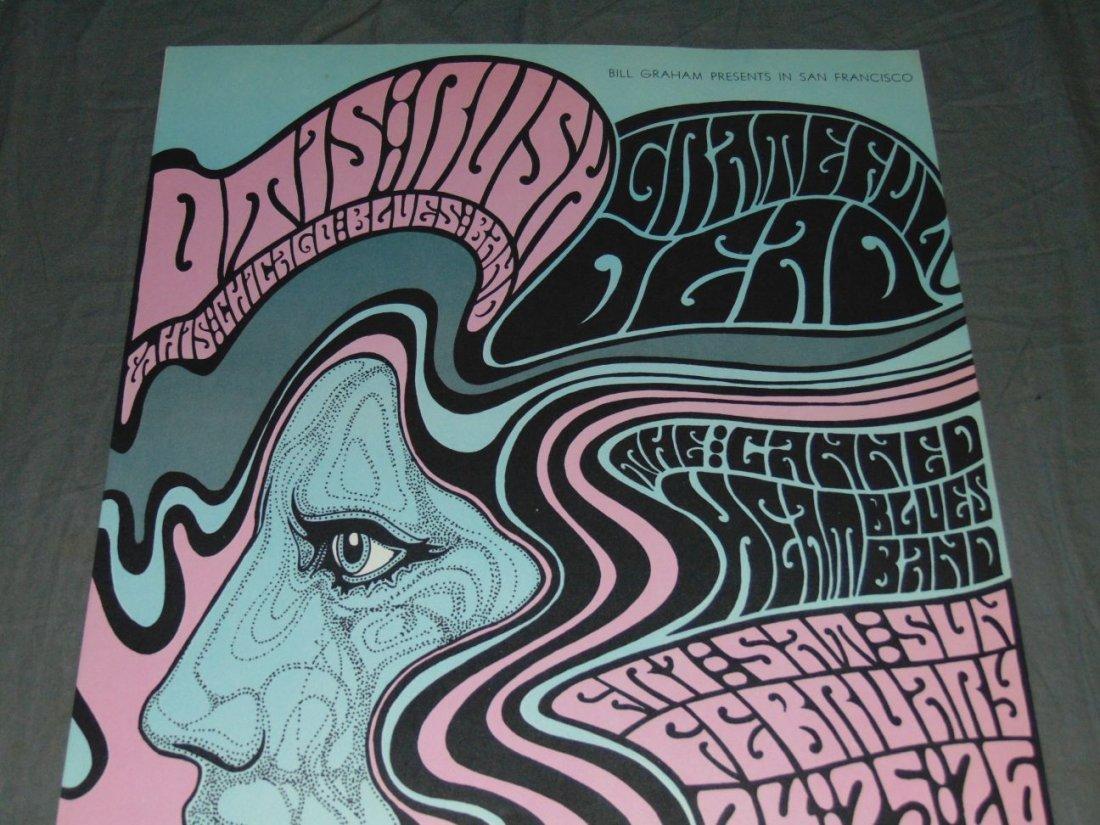 Grateful Dead Fillmore Concert Poster BG51 - 2