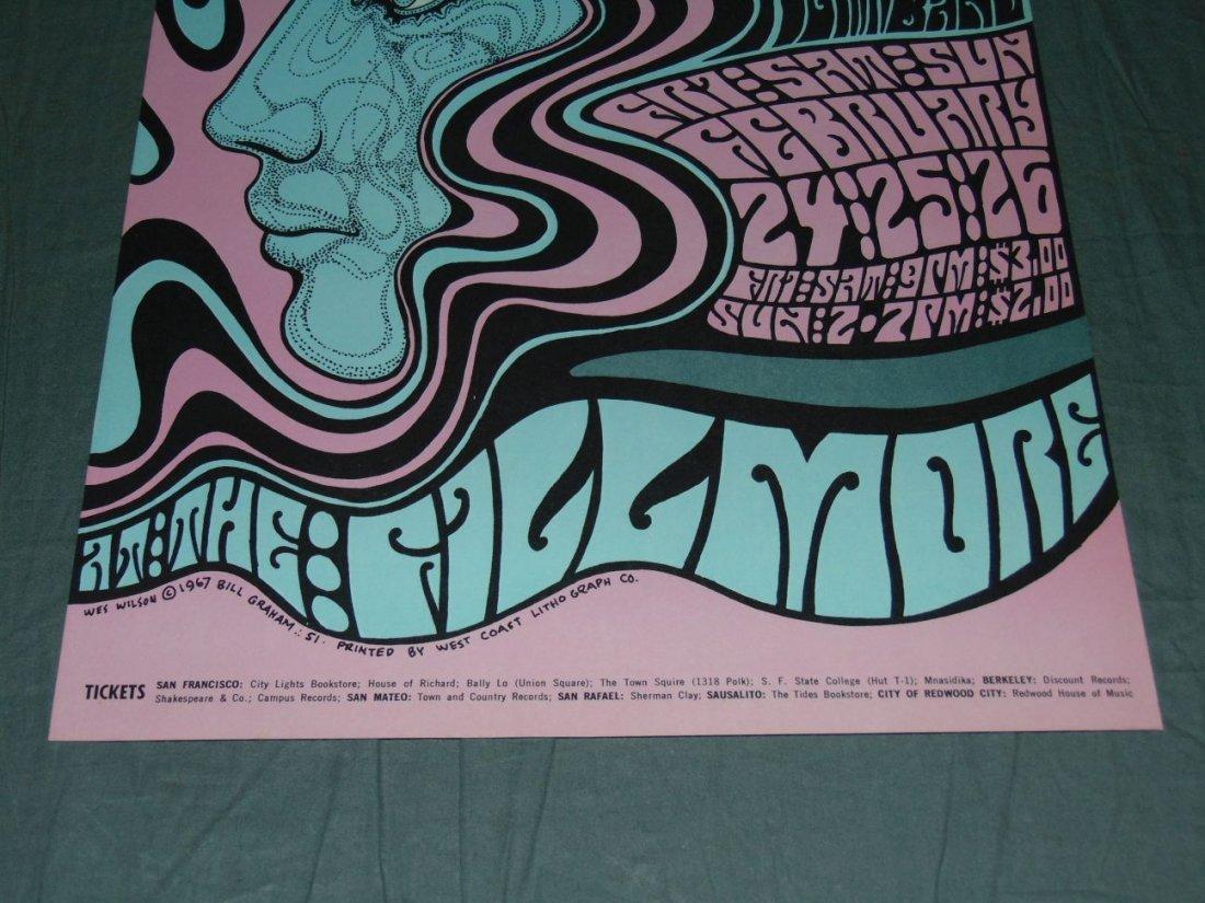 Grateful Dead Fillmore Concert Poster BG51 - 3