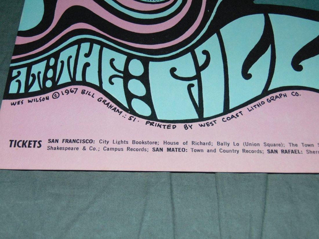 Grateful Dead Fillmore Concert Poster BG51 - 4
