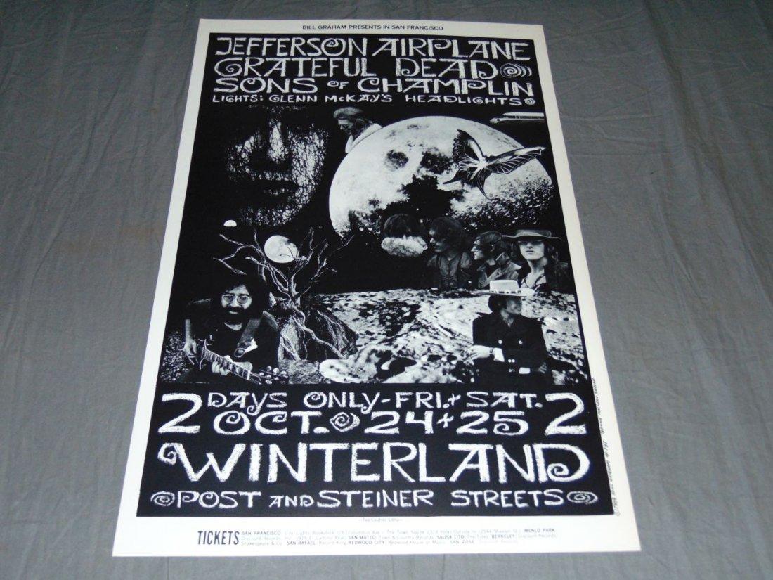 Grateful Dead Fillmore Concert Poster BG197