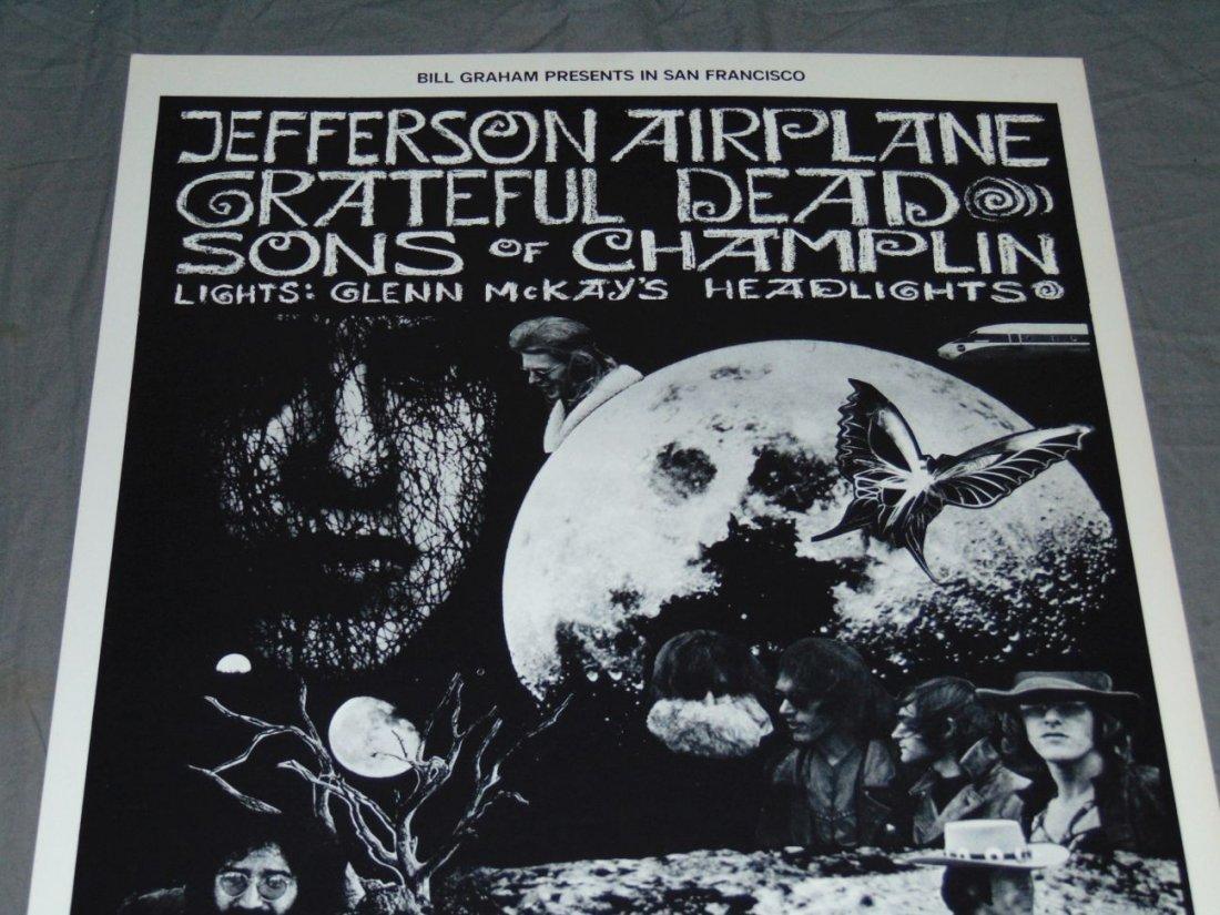 Grateful Dead Fillmore Concert Poster BG197 - 2