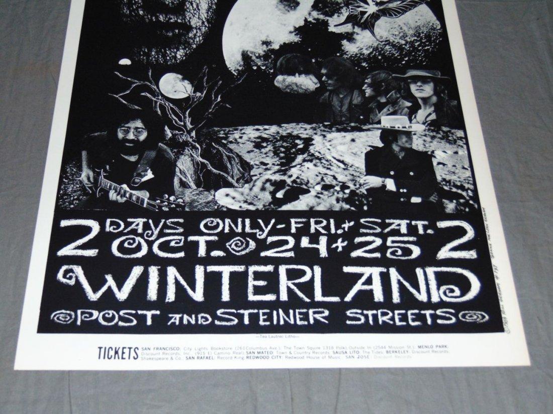 Grateful Dead Fillmore Concert Poster BG197 - 3