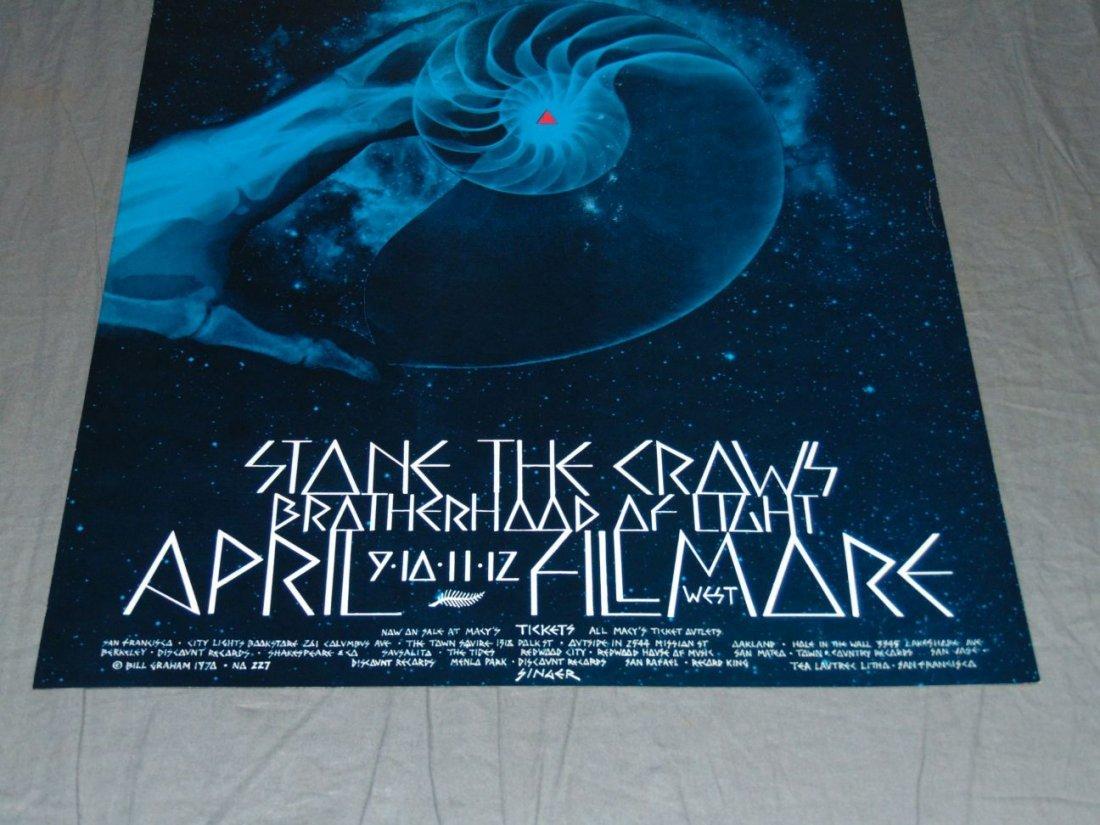 Grateful Dead Fillmore Concert Poster BG227 - 3