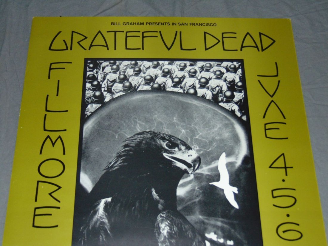 Grateful Dead Fillmore Concert Poster BG237 - 2