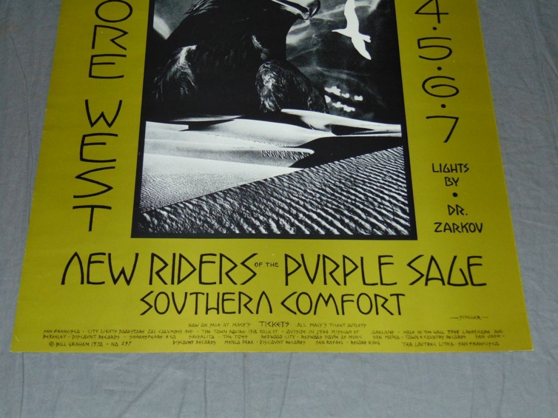 Grateful Dead Fillmore Concert Poster BG237 - 3