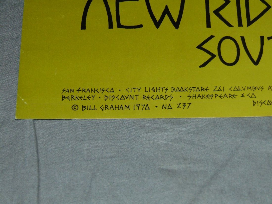 Grateful Dead Fillmore Concert Poster BG237 - 4
