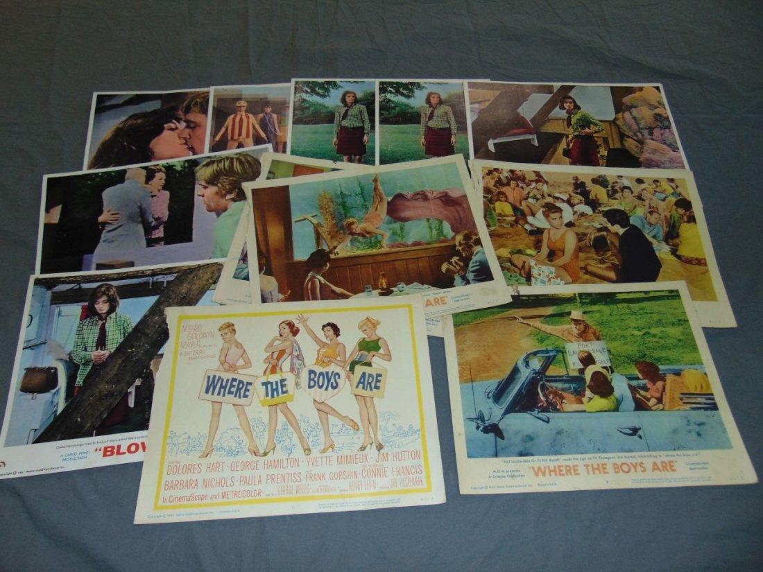 Movie Lobby Card Lot, 1960's