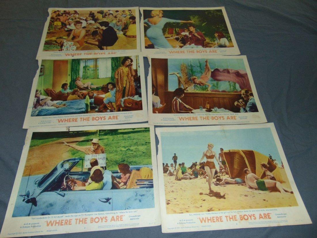 Movie Lobby Card Lot, 1960's - 2