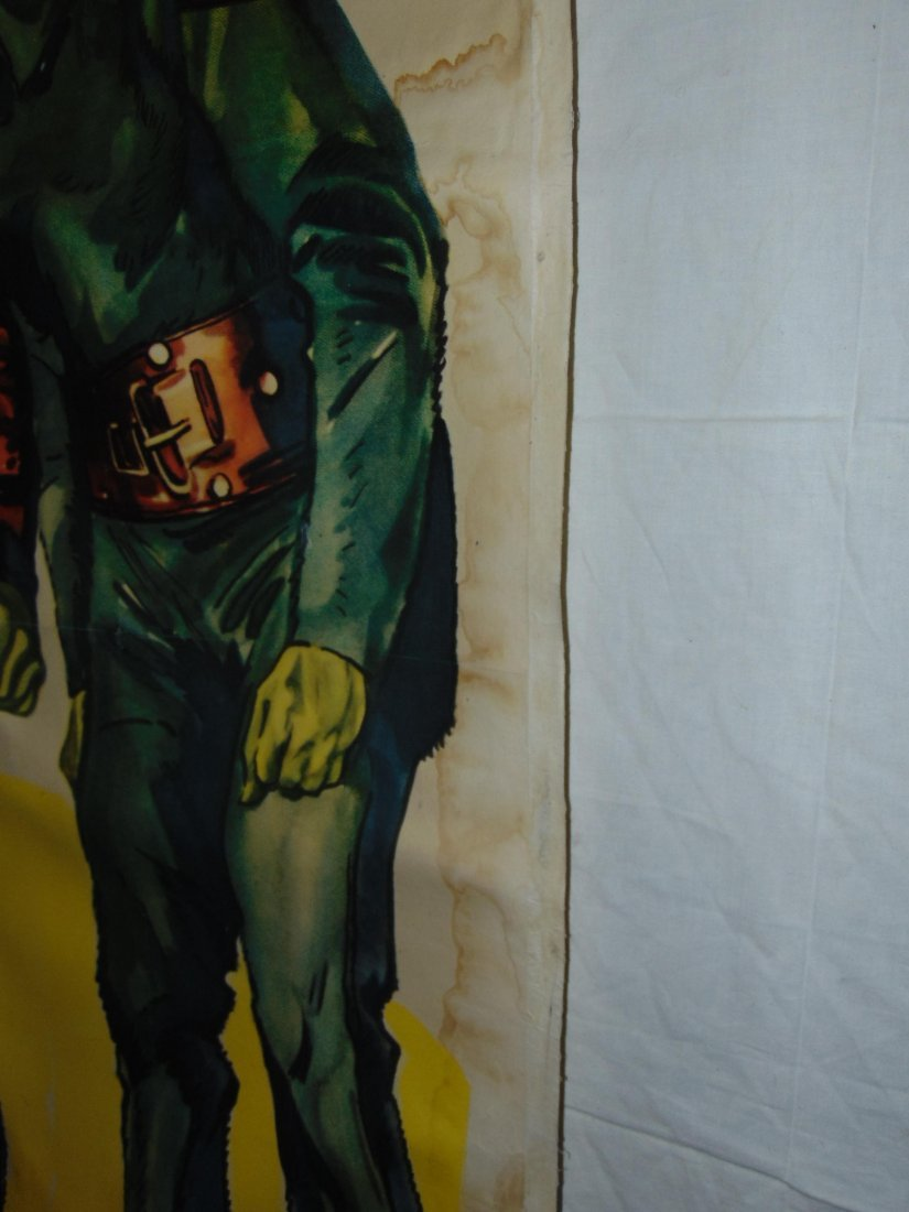 1952 Zombies of the Stratosphere, Three Sheet Pstr - 2