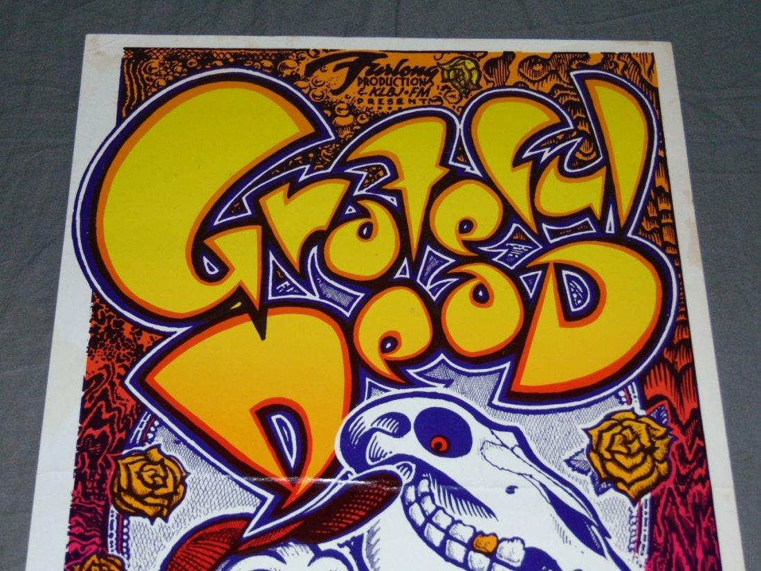 Grateful Dead Manor Downs Austin Concert Poster - 2