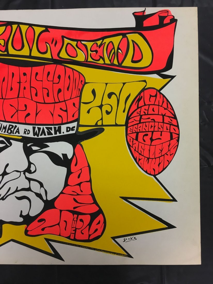 Grateful Dead Washington DC Concert Poster - 4