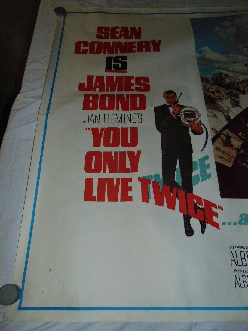 1967 You Only Live Twice Subway Poster, Style A - 2