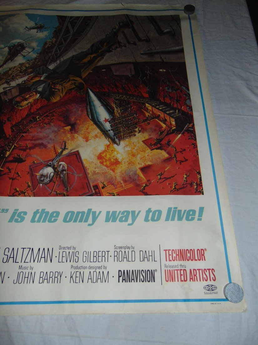 1967 You Only Live Twice Subway Poster, Style A - 4