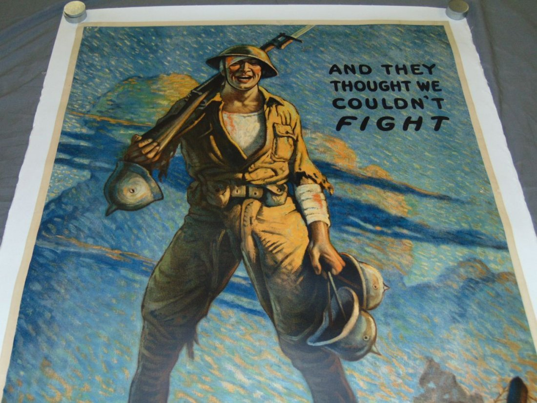 WW1 Victory Liberty Loan Poster, Clyde Forsythe - 2