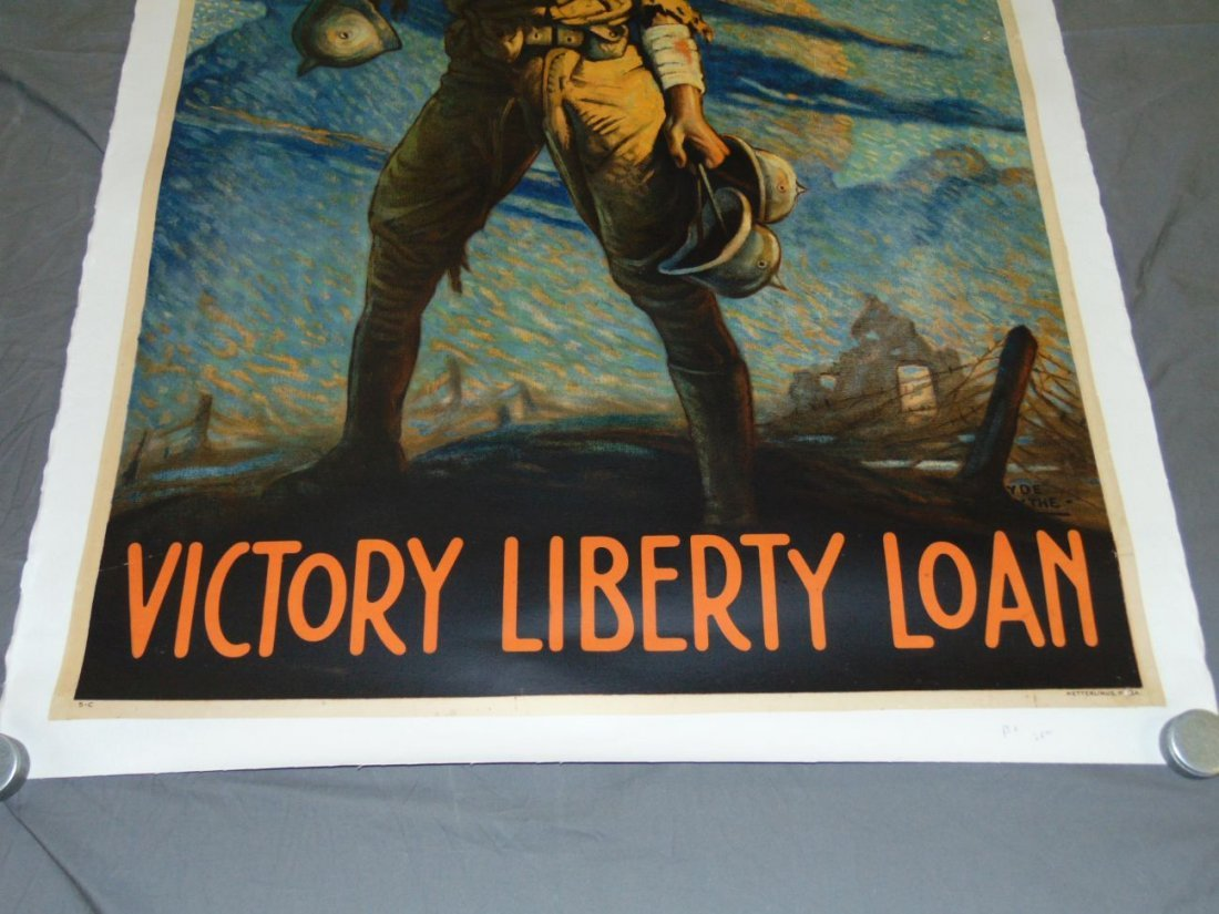 WW1 Victory Liberty Loan Poster, Clyde Forsythe - 3