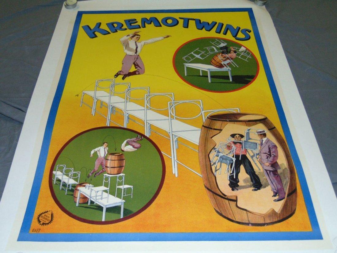 Kremo Twins Poster, Adolph Friedlander