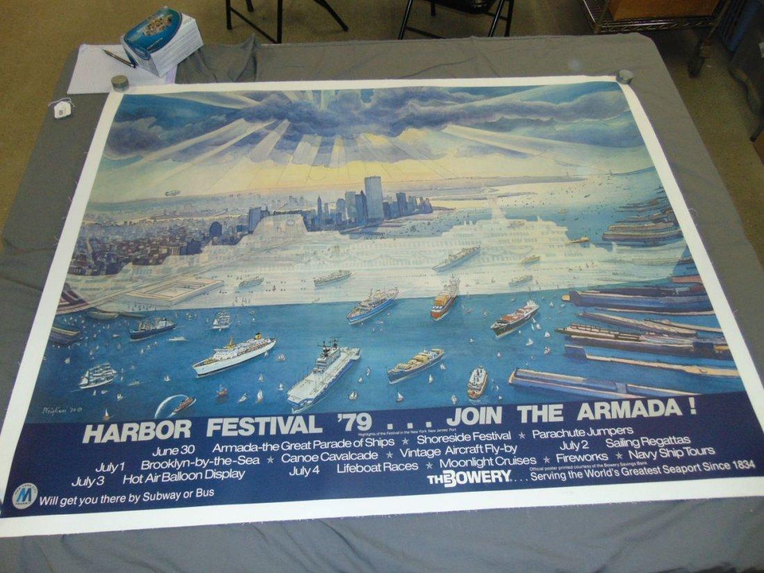 1979 Harbor Festival Poster, Letizia Pitigliani