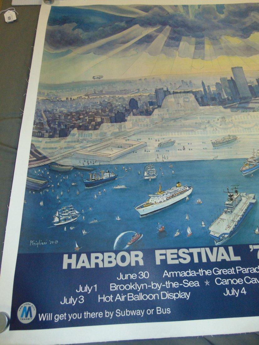 1979 Harbor Festival Poster, Letizia Pitigliani - 2