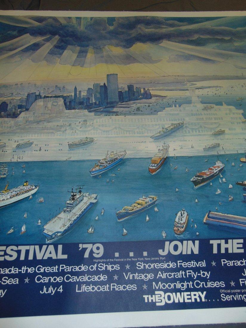 1979 Harbor Festival Poster, Letizia Pitigliani - 3