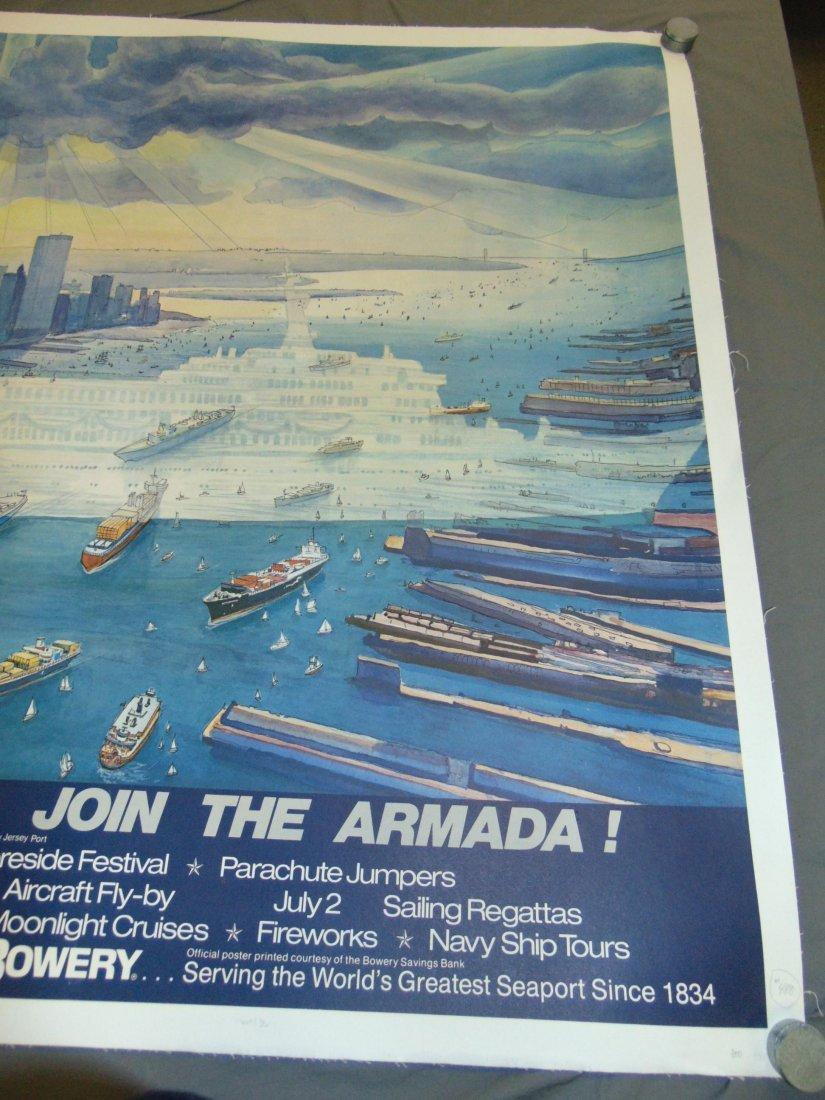 1979 Harbor Festival Poster, Letizia Pitigliani - 4