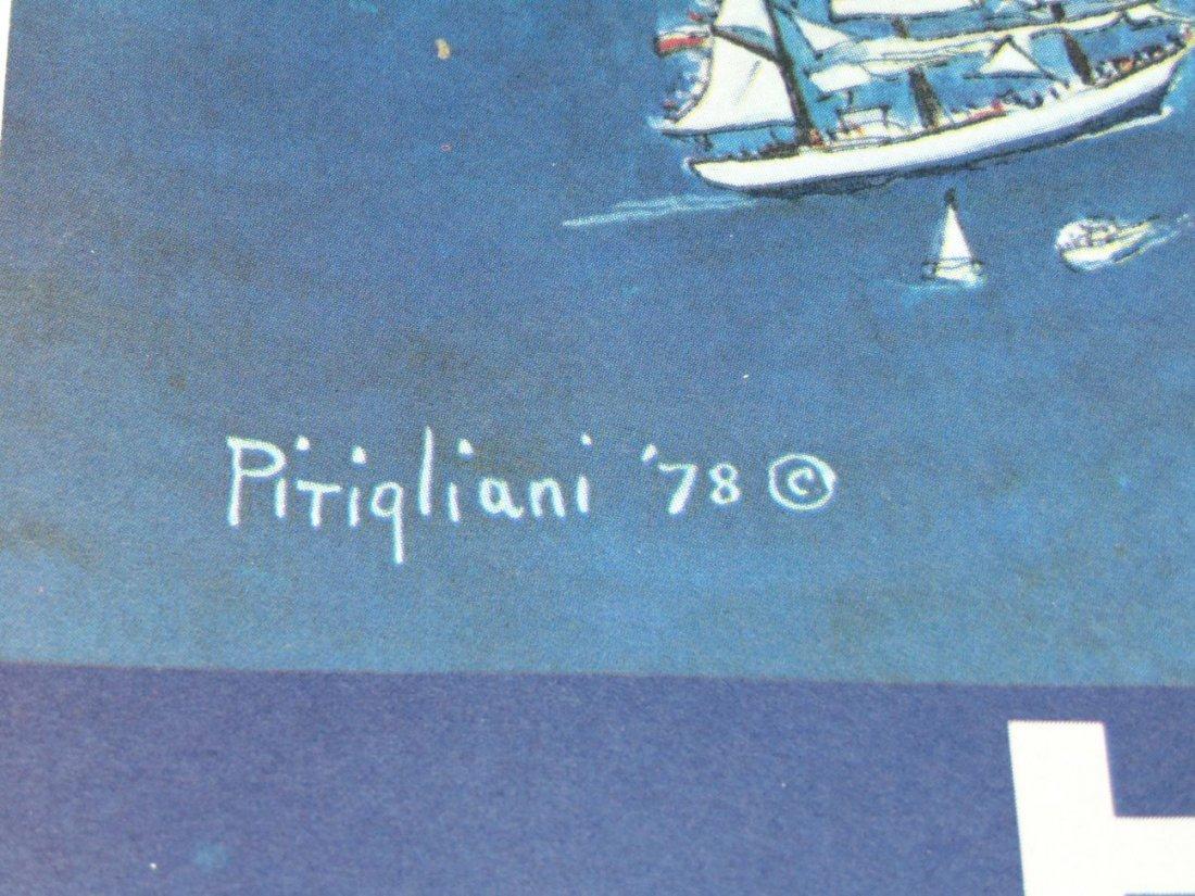 1979 Harbor Festival Poster, Letizia Pitigliani - 5