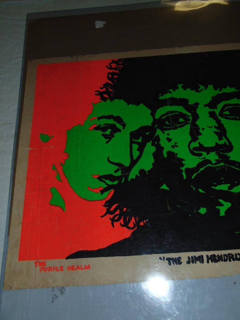 Jimi Hendrix 1967 Head Shop Psychedelic Poster - 2