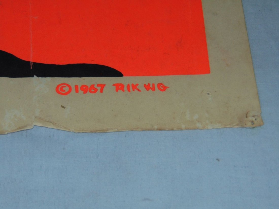 Jimi Hendrix 1967 Head Shop Psychedelic Poster - 5