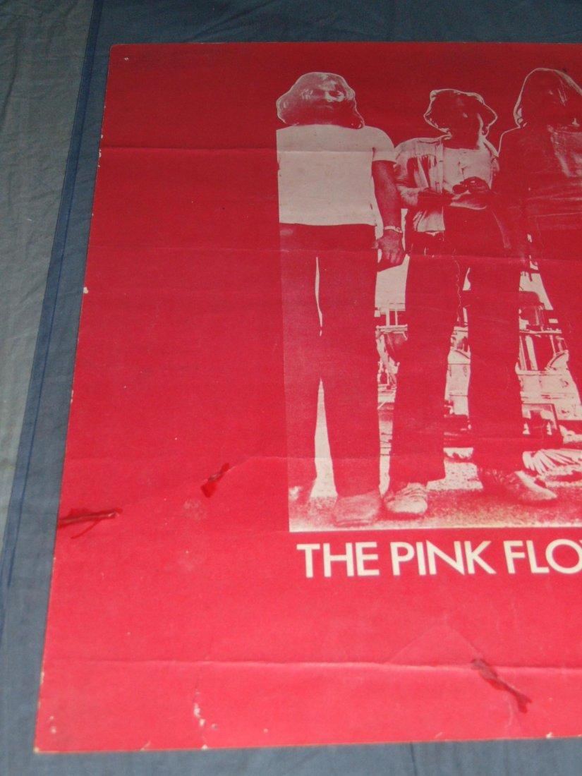 Pink Floyd 1970 Boston Concert Poster - 2