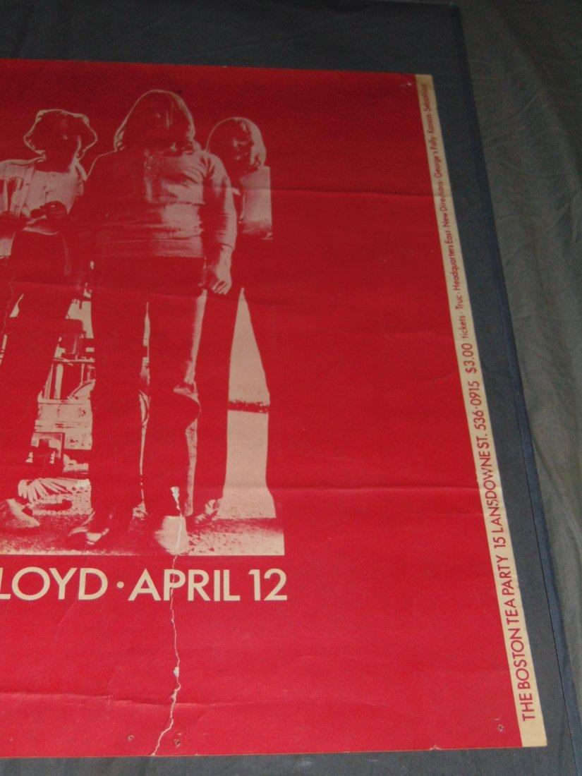 Pink Floyd 1970 Boston Concert Poster - 3