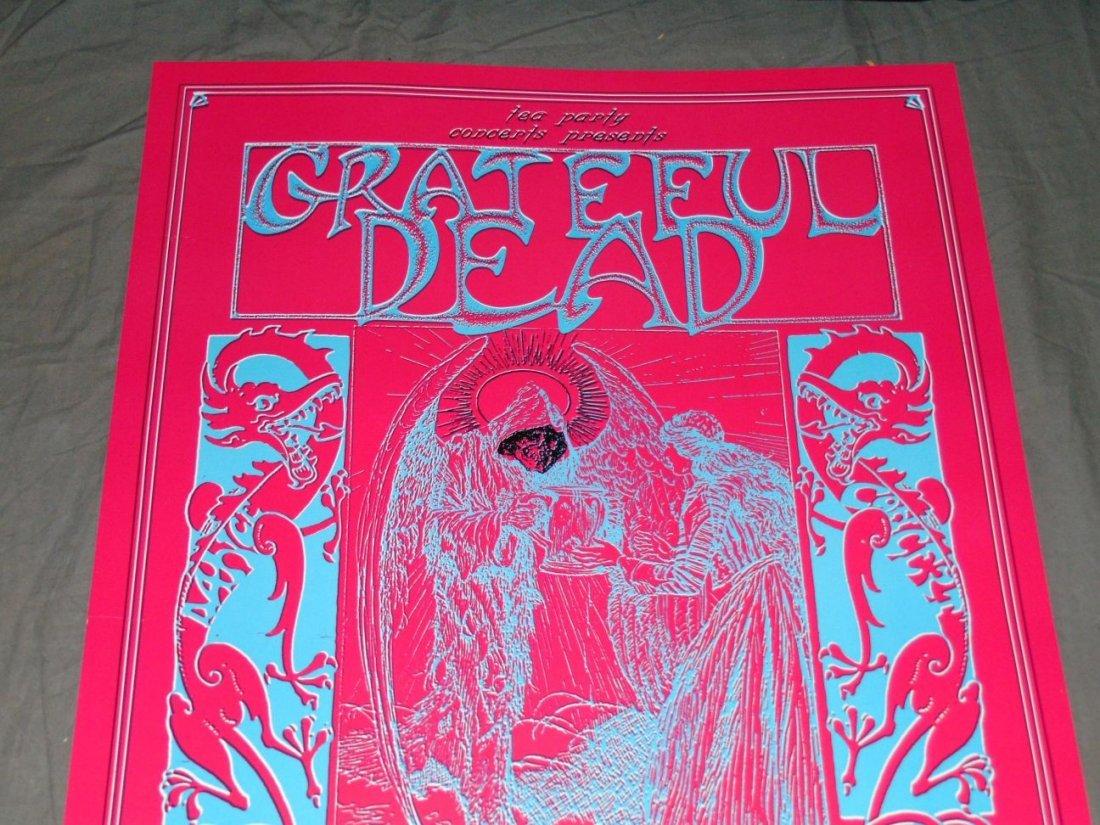 Grateful Dead Psychedelic Concert Poster - 2