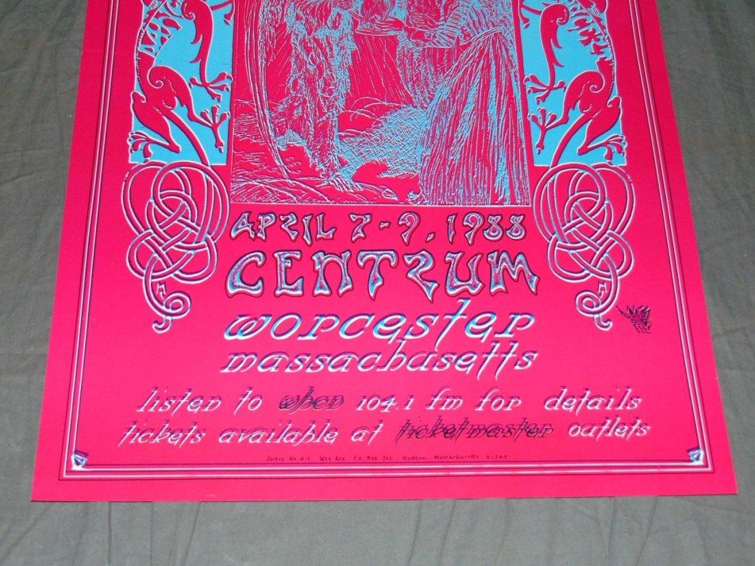 Grateful Dead Psychedelic Concert Poster - 3