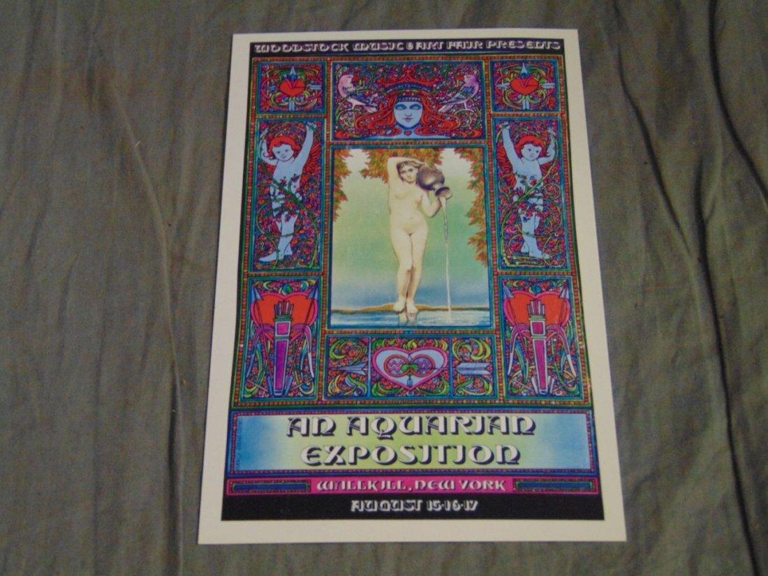 WOODSTOCK Original Wallkill Concert Handbill