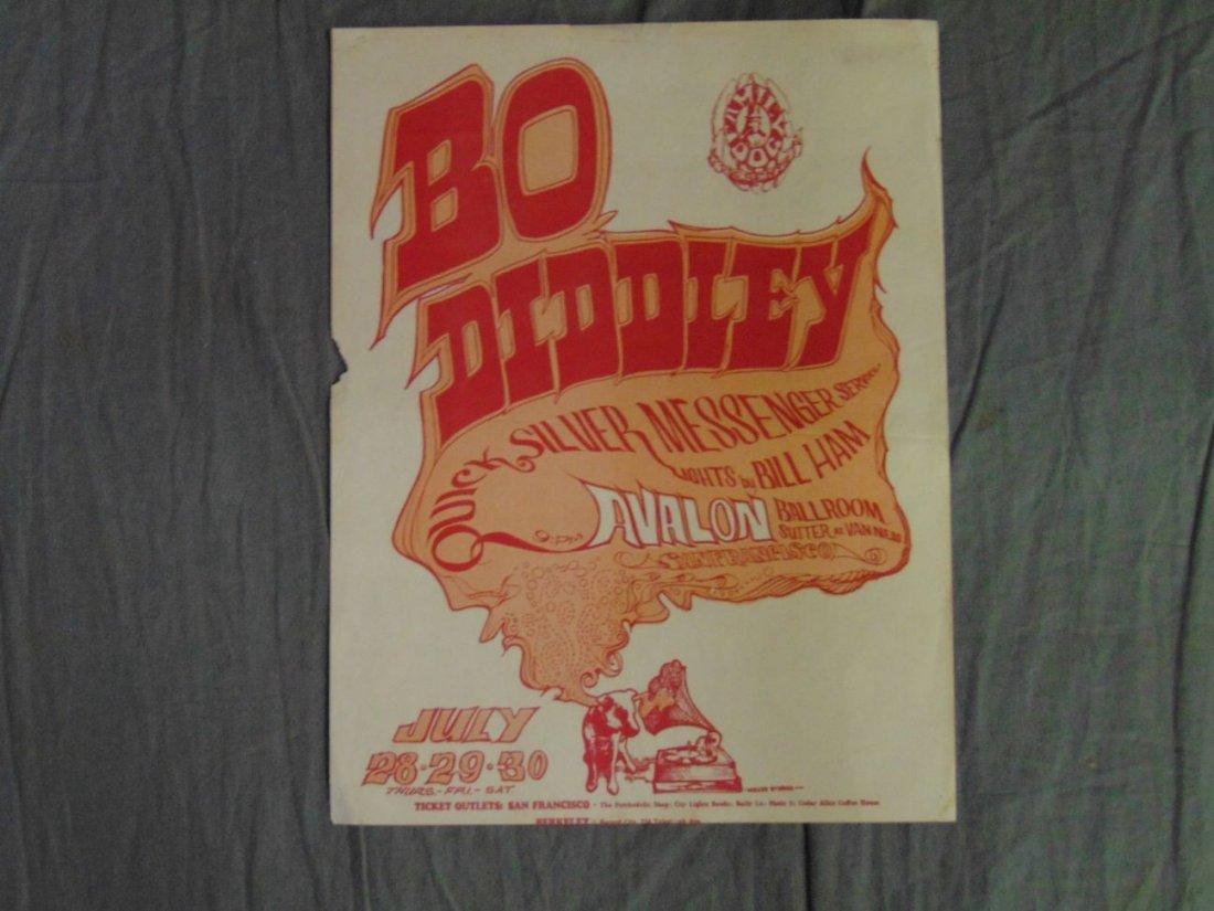 Bo Diddley FD18 1966 Concert Handbill