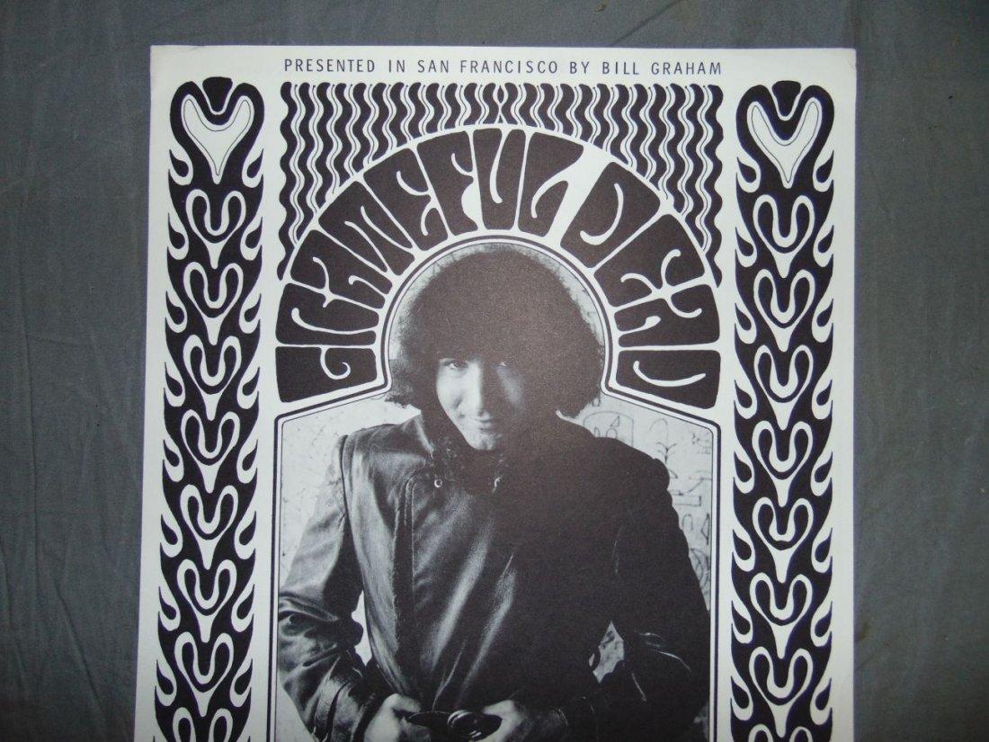 Grateful Dead BG32 1966 Concert Poster - 2