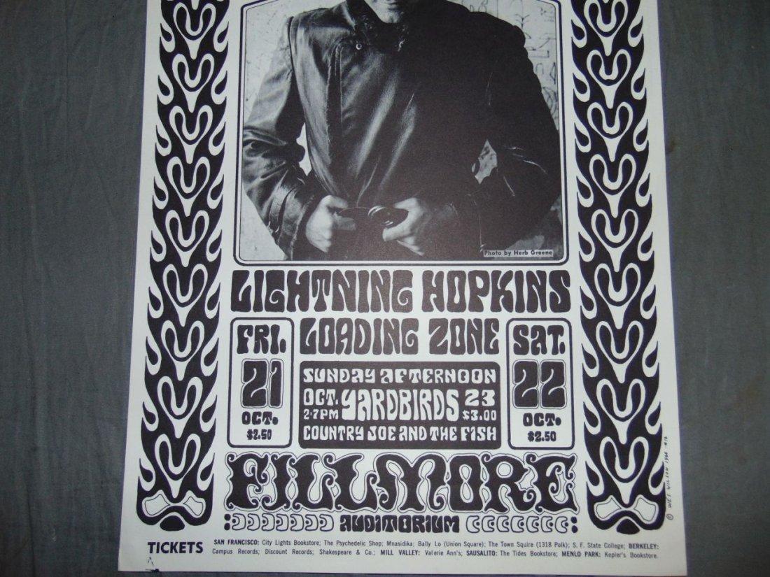 Grateful Dead BG32 1966 Concert Poster - 3