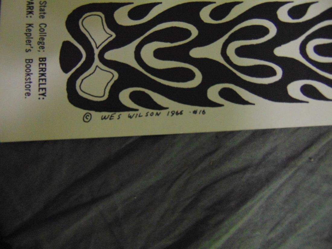 Grateful Dead BG32 1966 Concert Poster - 4
