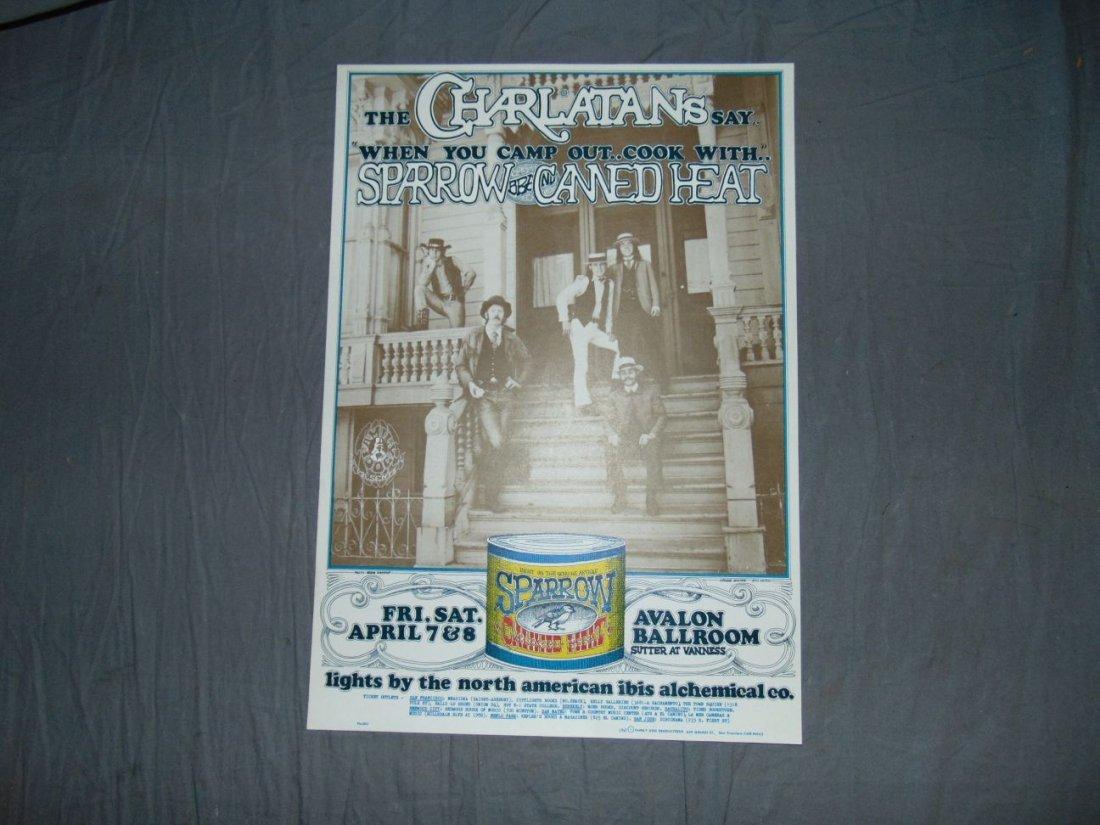 Charlatans 1967 Family Dog Concert Poster